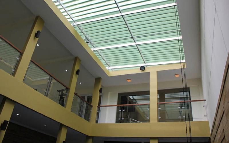 Sun Louvre | Canopy Aluminium | Sun Shading Louvers & Aluminium Canopy Sunlouvre for Roof Void | Canopy | Aluminium ...